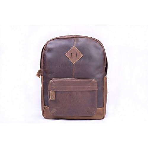 """Wholesale 16x12"""" Genuine Leather Laptop Backpack Shoulder Bag Men Women Backpack for sale"""