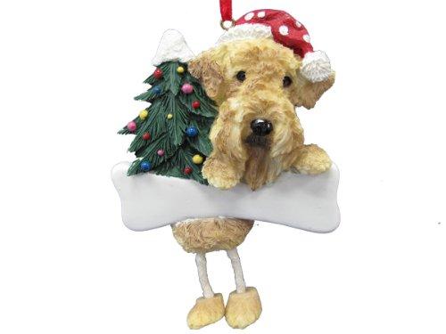 Airedale Terrier Ornament with Unique