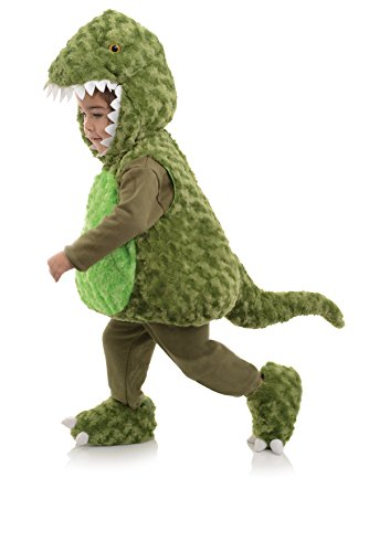 Underwraps Toddler's T-Rex Belly Babies Costume, Green, Large (2-4T)