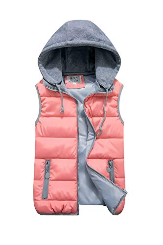 britannique gilet rose femmes pour 3xl cn manches beige 4xl hiver couleur cordon capuche vestes Zhrui taille à courtes X1apH