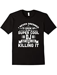 Super Cool DJ Funny Dance Music Rave Party Shirt