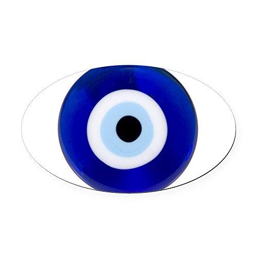 Cafepress   Nazar Amulet Evil Eye Protection Oval Car Magnet   Oval Car Magnet  Euro Oval Magnetic Bumper Sticker