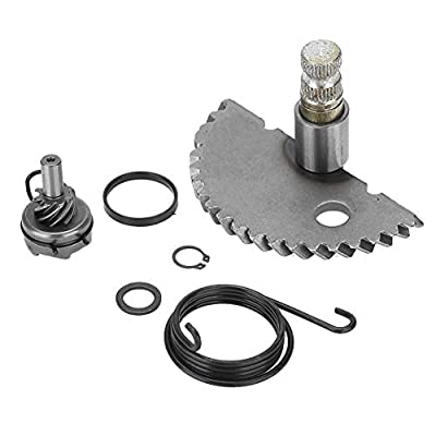 Akozon Kick Start Shaft Idler Aluminum Gear Assembly Set for GY6 50CC 80CC 139QMB Scooter Moped: Automotive