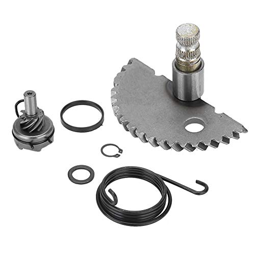 - Suuonee Starter Shaft Kit,Aluminum Kick Start Shaft Idler Gear Assembly Set for GY6 50CC 80CC 139QMB Scooter Moped