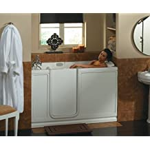 "Jaccuzi EW00959 Finestra Walk-In Pure Air 60""L x 30""W x 37""H Bathtub, White"