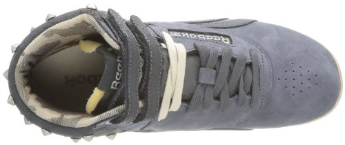 Reebok Damen F/S Hi High-Top Schwarz - Noir (Soft Black)