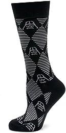 Best Buy Star Wars Darth Vader Argyle Stripe Black Socks Officially Licensed