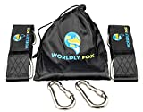 Our Mission at Worldly Fox is always to provide high quality and easy to use products. The materials have been tested for quality and made for easy use with the outdoors. Our stylish black straps are perfect at-home or on the move. Everything You Nee...