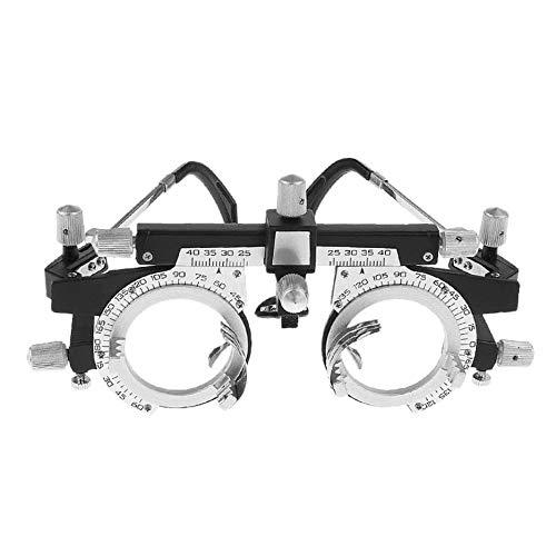 Deasengmint Adjustable Professional Eyewear Optometry Metal Frame Optical Optic Optician Trial Lens Metal Frame PD Eyeglasses Accessories