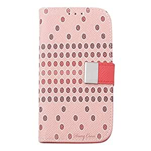 Speckle Weaved Pattern PU Leather Case with Stand for Samsung Galaxy S3 I9300 (Random Colors)
