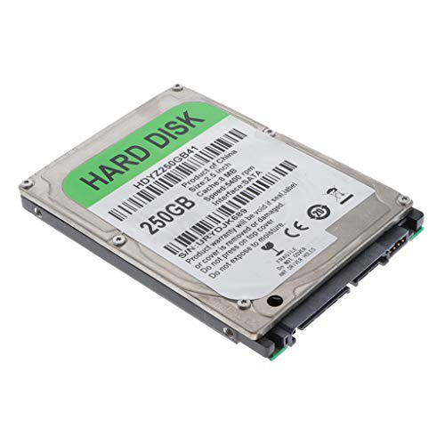 D DOLITY 250GB 2.5inch SATA Internal Hard Disk Drive HDD for PC Laptop