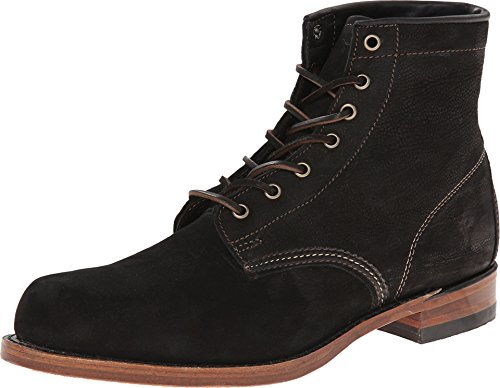 Frye Men's Arkansas Mid Boot, Black, 10 M - Men Arkansas