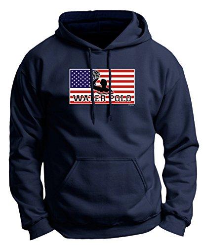 Water Polo Gear American Pride Water Polo Premium Hoodie Sweatshirt XL ()