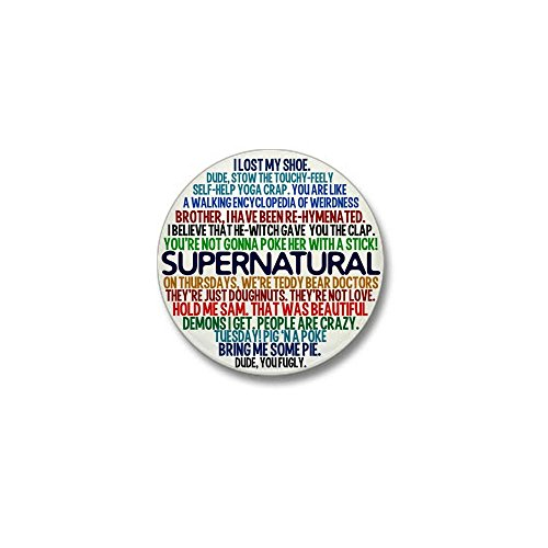 CafePress Supernatural Show Button Round