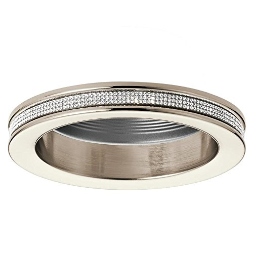Kichler Angelica Polished Nickel Baffle Recessed Light Trim