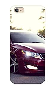 Case For Iphone 6plus 5.5 Tpu Phone Case Cover(vossen Wheels Kia Optima ) For Thanksgiving Day's Gift