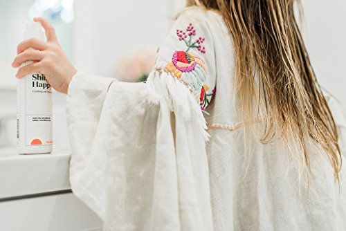 Shiny Happy Kids Hair Detangler Spray Leave in Conditioner without PEGs or Petrochemicals or Artificial Fragrance | Premium Kids Detangling Spray with Natural Plant Milks | Clean Beauty for Kids by do+little (Image #2)
