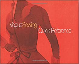 Book Vogue Sewing® Quick Reference (Vogue Knitting Magazine)