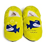 Maybolury Girl's Boy's Cute Cartoon Home Slippers,Kids Cotton Warm Winter Indoor House Slippers Shoes(Toddler/Little Kid)
