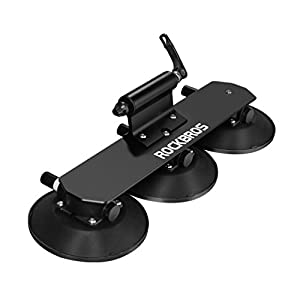 RockBros Rooftop Bike Rack Quick Release Aluminium Alloy Bike Carrier with Sucker for Car
