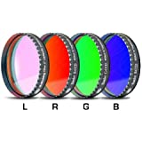 "Baader Planetarium LRGB Filter Set 2"" w/ UV IR Cut L-Filter (Optically Polished) FLRGB-2"