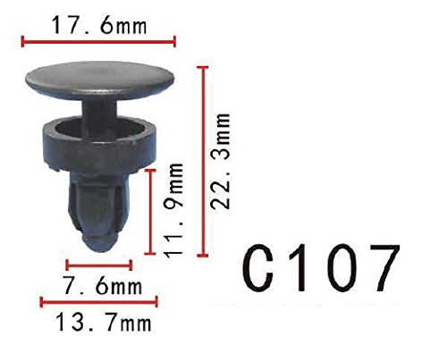 HONDA OEM-Cowl Top Panel Clip 91508SR3000