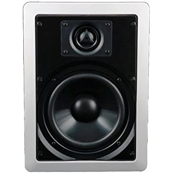"""AudioSource AC6W 6.5"""" In-Wall Speakers (Pair, White)"""