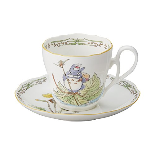 Noritake X Studio Ghibli Neighbor Totoro Mug Cup and Saucer TT97889/4924-8 ()