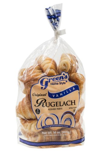 Green's Bakery Kosher Vanilla Rugelach Pastry - 14 oz. ()