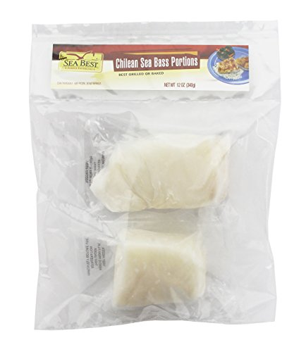 - Sea Best Chilean Sea Bass Portions, 12 Ounce