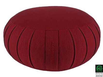 Chin Mudra Zafu de meditación Confort 100% algodón orgánico – Kapok