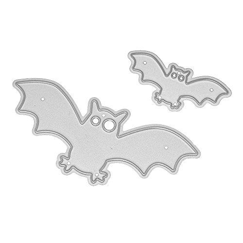 LandFox Halloween Metal Cutting Dies Stencils Scrapbooking Embossing DIY Crafts (A) -
