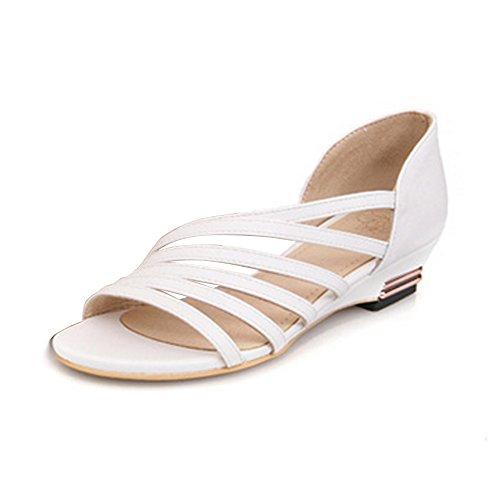 Pendiente cabeza de pescado con sandalias de verano yardas grandes personalizarse Blanco