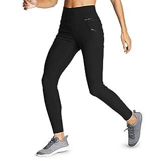 Eddie Bauer Women's Trail Tight Leggings - High Rise, Black Regular M
