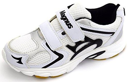 Damen Sportschuhe Klettverschluss weiß/schwarz