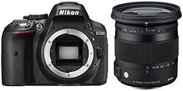 NIKON D5300 + SIGMA 17-70 DC OS HSM CONTEMPORARY: Amazon.es ...