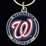 Washington Nationals Key Ring - MLB Baseball Fan Shop Sports Team Merchandise