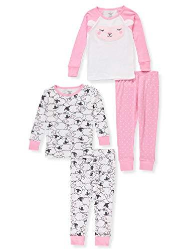 Carter's 4-Piece Sheep Snug Fit Cotton PJs, 24 Months ()