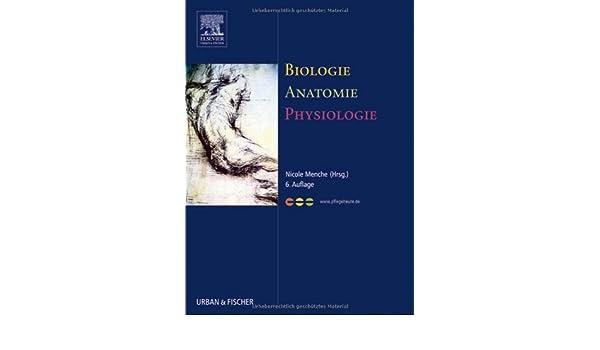 Biologie Anatomie Physiologie: 9783437268014: Amazon.com: Books
