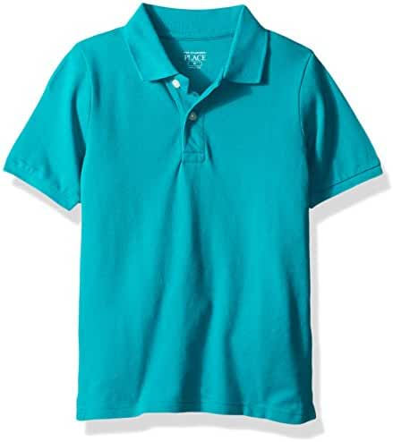 The Children's Place Baby Boys' Short Sleeve Solid Polo