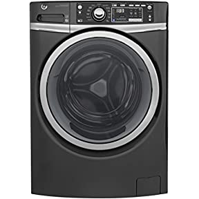 GE GFW480SPKDG 28' Front Load Washer with 4.9 cu. ft. Capacity, in Diamond Grey