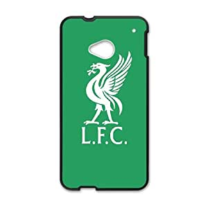 HTC One M7 Phone Case for Liverpool Logo pattern design GLVPLG696285