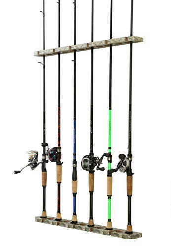 Organized Fishing 3 In 1 Hanging Fishing Rod Storage Rack