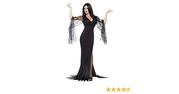 Horror-Shop Vestido Seductora Morticia L: Amazon.es: Juguetes y juegos