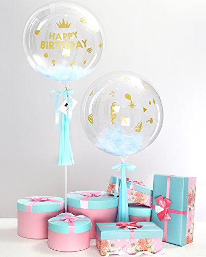 Tassel Bubble - Happy Birthday Boy Party Decoration Balloon 18