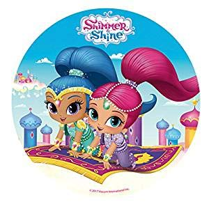 Shimmer & Shine Edible Image Cake Topper 8