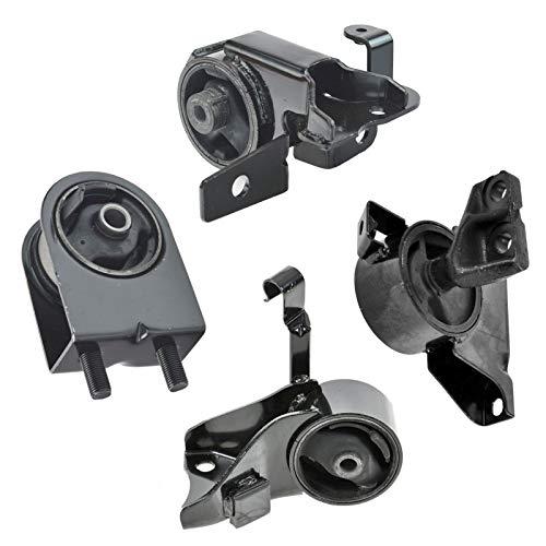 Motor Engine & Transmission Mounts Set of 4 Kit for Mazda Protege 1.8L ()