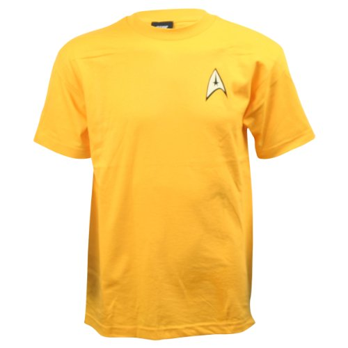 Star Trek Command Gold Uniform T-Shirt, XX-Large ()