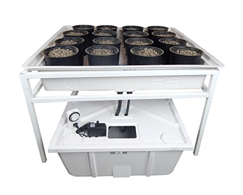 Viagrow Complete Ebb & Flow Hydroponics System (O.D. 41.3' length x 41.3' wide x 25' high)