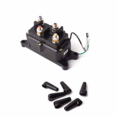 Jahyshow Products ATV-CONT Replacement Winch Contactor 12V 2000lb-3000lb UTV Truck Winches